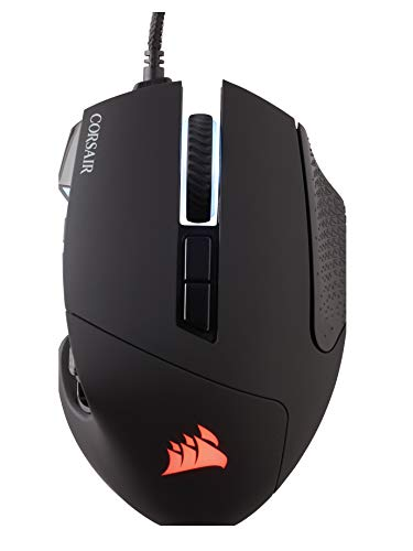Corsair SCIMITAR PRO RGB Optisch Gaming Maus (RGB-LED-Hintergrundbeleuchtung, 16000 DPI) schwarz