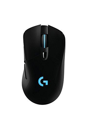 Logitech G703 Wireless Gaming Maus (mit kabelloser Powerplay-Aufladetechnologie und Lightspeed)