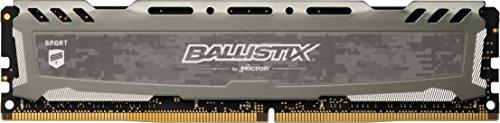 Crucial Ballistix Sport LT BLS8G4D240FSB Desktop Gaming Speicher (2400 MHz, DDR4, DRAM, 8GB, CL16) grau