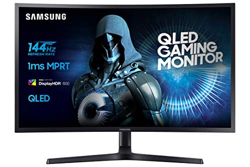 Samsung C32HG70 81,28 cm (32 Zoll) Monitor (LCD/LED, HDMI, DP, Piv, 1ms Reaktionszeit, 2560 x 1440 Pixel) schwarz