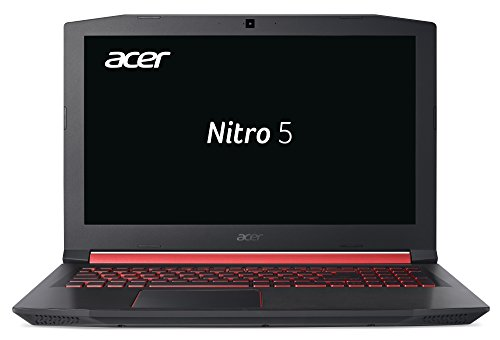 Acer Nitro 5 (AN515-52-59UC) 39,6 cm (15,6 Zoll Full-HD IPS matt) Gaming Notebook (Intel Core i5-8300H, 8GB RAM, 512GB PCIe SSD, NVIDIA GeForce GTX 1060, Win 10 Home) schwarz/rot
