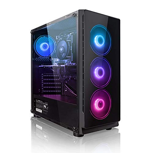 Megaport Gaming PC AMD Ryzen 5 2600X 6x4.20 GHz Turbo • Nvidia GeForce RTX 2060 6GB • 240GB SSD • 1000GB Festplatte • 16GB DDR4 RAM • Windows 10 Home • WLAN Gamer pc Gaming