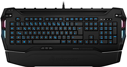 ROCCAT Skeltr Smart Communication RGB Gaming Tastatur (DE Layout, Bluetooth für Mobilgeräte, Docking-Slot) weiß