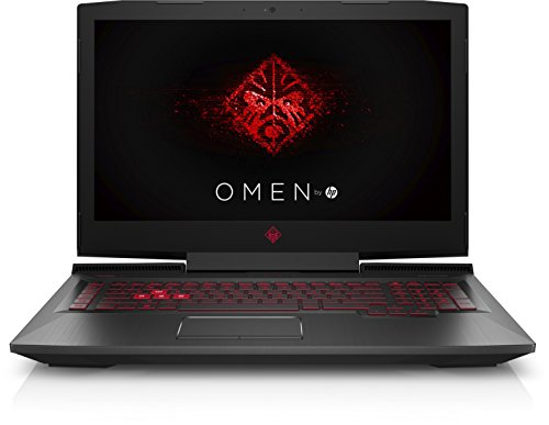 HP Omen 17-an042ng 43,9 cm (17,3 Zoll 4K IPS) Gaming Notebook (Intel Core i7-7700HQ, 32GB RAM, 1TB HDD, 512GB SSD, NVIDIA GeForce GTX 1070 8GB, Windows 10 Home 64) schwarz