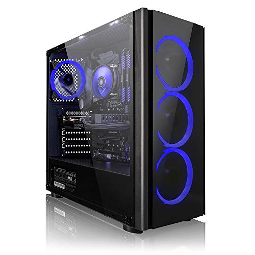Megaport Gaming-PC AMD Ryzen 3 3200G 4X 3.60GHz • Nvidia GeForce GTX1650 • 1TB HDD • 8 GB DDR4 2400 RAM • Windows 10 • Gamer PC • Gaming Computer • Desktop PC • Gamer Computer • Rechner