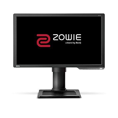 BenQ ZOWIE XL2411P - 24 Zoll 144Hz Gaming Monitor (1ms Reaktionszeit, Höhenverstellung, Black eQualizer, Display Port) für PC-Spieler