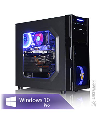Ankermann Gaming PC PC Intel Core i7-9700 8X 3.00GHz 16GB RAM 240GB SSD 1TB HDD Windows 10 PRO