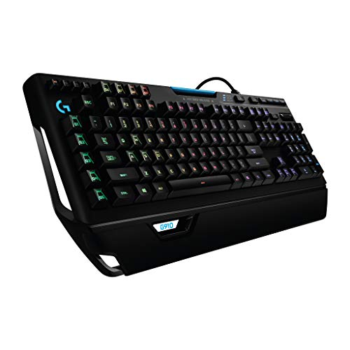 Logitech G910 Mechanische Gaming-Tastatur (mit RGB Orion Spectrum, Deutsches Tastaturlayout)