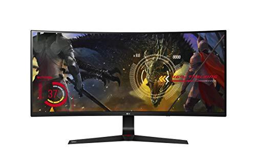 LG 34UC89G 86,36 cm (34 Zoll) Curved 21:9 UltraWide™  Full HD IPS Gaming Monitor (144 Hz, G-Sync, DAS Mode), schwarz