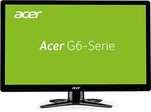 Acer G276HLLBIDX 69 cm (27 Zoll) Gaming Monitor (VGA, HDMI, DVI, 1ms Reaktionszeit, 1920 x 1080, ZeroFrame) schwarz/rot