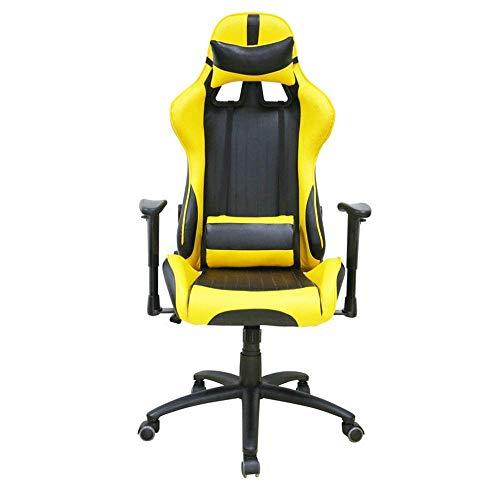 SEEKSUNG Stuhl E-Sport Stuhl Racing Office Gaming Leder Drehtisch Computer Sport Zurück Liegend Kann Heben