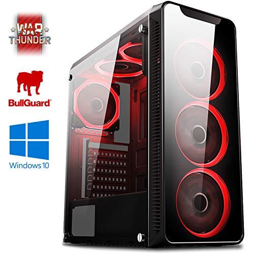 Vibox Kaleidos GLR770-137 Gaming-PC Computer mit 2 Gratis-Spielen, Windows 10 OS (4,6GHz Intel i7 6-Core Coffee Lake Prozessor, Nvidia GeForce RTX 2060 Grafikkarte, 32Go DDR4 2400MHz RAM, 1TB HDD-SSD)