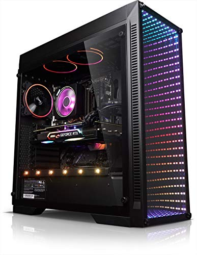Kiebel Gamer PC Infinity 9.0 [184553] PC Intel i7 9700KF 8x3.6GHz (bis 4.9GHz Turbo) | 16GB DDR4 3000 | 500GB SSD + 1TB | nVidia Geforce RTX 2080Ti 11GB | MSI Z390-A Pro | Gaming Computer