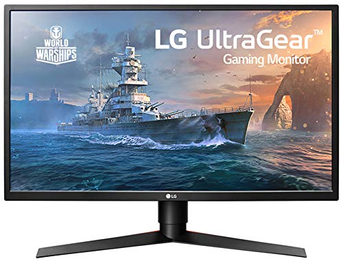 LG 27GK750F-B 68,58 cm (27 Zoll) UltraGear Full HD Gaming Monitor (240Hz, 1ms MBR, LED, AMD Radeon FreeSync, DAS Mode), schwarz