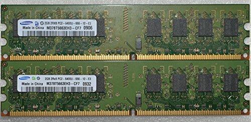 8 GB 4 x 2 GB DDR2 PC2-6400 6400U DDR2-800 mhz Speicher PC DESKTOP RAM DIMM 240 pin