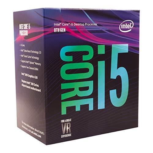 Intel Core i5-8400 Prozessor (9 MB Cache, bis zu 4,00 GHz)