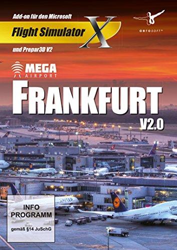 Flight Simulator X - Mega Airport Frankfurt V2.0 (Add - On) - [PC]
