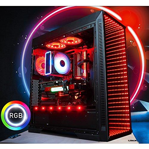 GameMachines Saber - Gaming PC - Intel Core i7 9700K - NVIDIA GeForce GTX 1660Ti - ASUS ROG Strix Gaming Mainboard - 500GB SSD - 2 TB Festplatte - 16GB DDR4 - WLAN - Windows 10 Pro